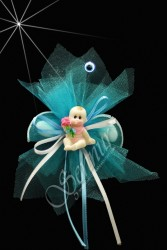 ŞENNUR - Çiçekli Bebek Şekeri Bebek-323