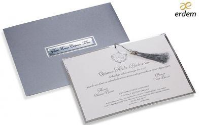 Erdem düğün, nişan, sünnet davetiye 80965