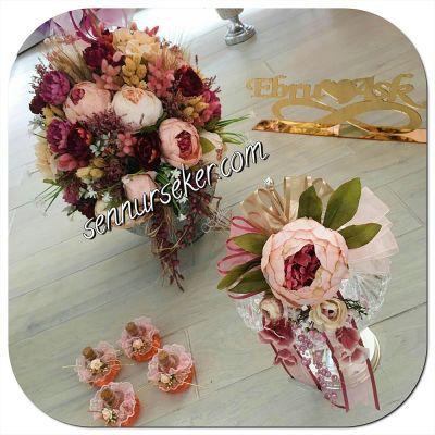 Nişan Çiçek ve Çikolatası 011