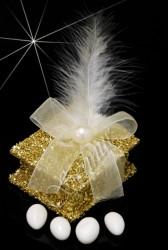 ŞENNUR - Altın Kutu Nikah Şekeri 30811 gold