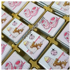 ŞENNUR - Baskılı Bebek Çikolatası 2325