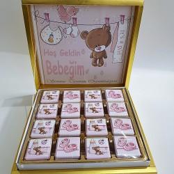 Kız Bebek Çikolatası 2465 - Thumbnail