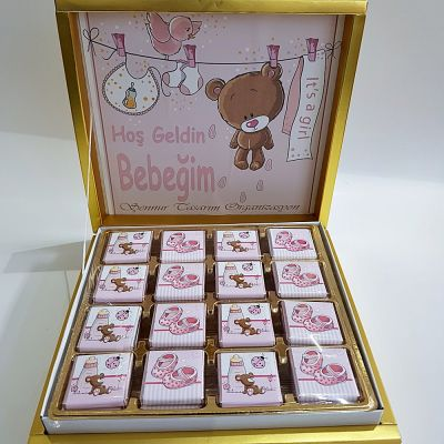 Kız Bebek Çikolatası 2465