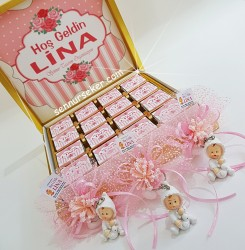 ŞENNUR - Çikolatalı Bebek Hediye Paketi 2585