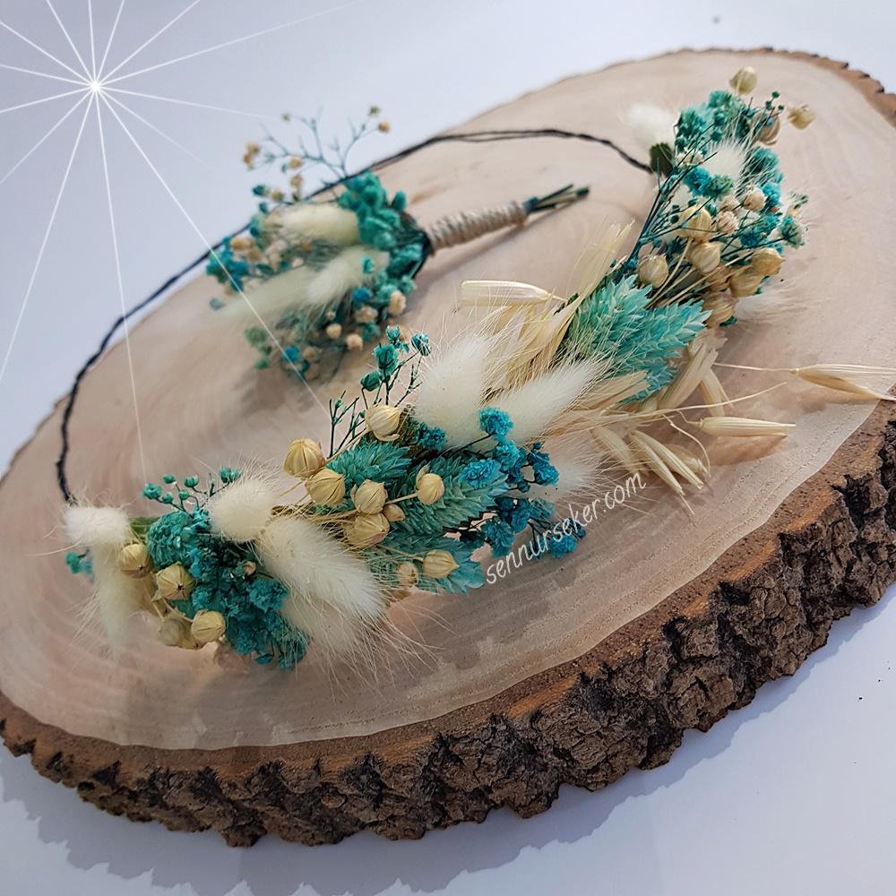 ŞENNUR - Doğal Çiçekli Gelin, Lohusa Tacı 2985