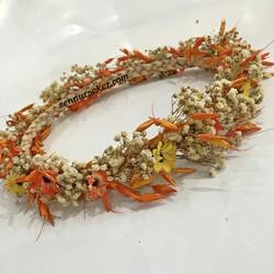 ŞENNUR - Doğal Yulaf Papatyalı Gelin Tacı 2734