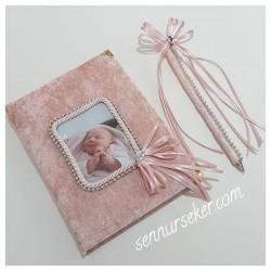 ŞENNUR - Fotoğraflı Bebek Anı Defteri 2440