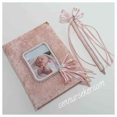 Fotoğraflı Bebek Anı Defteri 2440