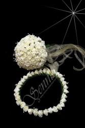 ŞENNUR - Gelin Çiçek ve Taç Takım 25