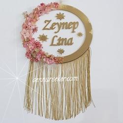 ŞENNUR - Gold Yıldızlı Kapı Süsü 2610
