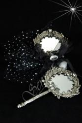 ŞENNUR - Gümüş Ayna Nikah Şekeri 32676