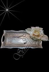 ŞENNUR - Gümüş Yüzük Tepsisi 79