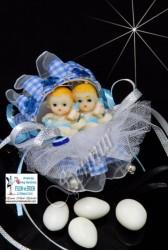ŞENNUR - İkiz Bebek Şekeri 30972-A