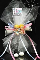 ŞENNUR - İkiz Bebek Şekeri 32863-A