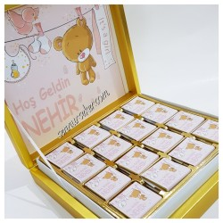 ŞENNUR - İsimli Bebek Çikolatası 2337