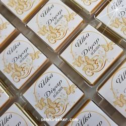 ŞENNUR - İsme Özel Kelebekli Nişan, Bebek Çikolatası 2630