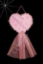 ŞENNUR - Kalpli Bebek Kapı Süsü 58
