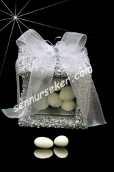 ŞENNUR - Kelebekli Kutu Nikah Şekeri 33265