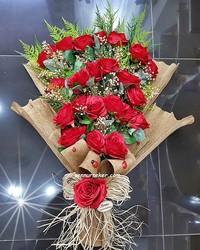 ŞENNUR - Kırmızı Gül Kız İsteme ve Nişan Çiçeği 2656