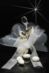 ŞENNUR - Kristal Gül Nikah Şekeri 32674-A