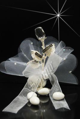 Kristal Gül Nikah Şekeri 32674-A