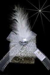 ŞENNUR - Kumlu Kutu Nikah Şekeri 32402 tüylü