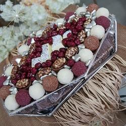 Kuru Çiçekli Söz Nişan Çikolatası 2773 - Thumbnail