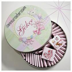 ŞENNUR - Metal Kutuda Bebek Çikolatası 2470