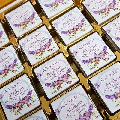 Mor Kelebekli Söz, Nişan, Nikah Çikolatası T2562