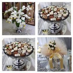 ŞENNUR - Orkideli Nişan Çiçeği ve Çikolatası 2439