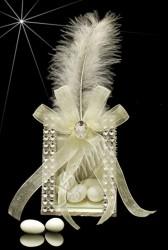 ŞENNUR - Sedef Taşlı Kutu Nikah Şekeri 32631