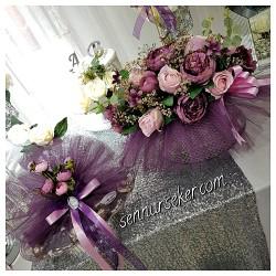 ŞENNUR - Söz Nişan Çikolata ve Çiçek Takımı 2469