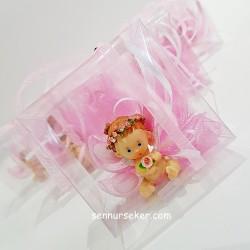 ŞENNUR - Taçlı Melek Bebek Şekeri
