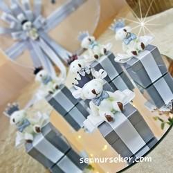 ŞENNUR - Tasarım Ayıcıklı Kutu Bebek Hediyeliği 2652
