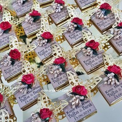 ŞENNUR - Tasarım Kına,Nişan,Nikah Çikolatası 2590