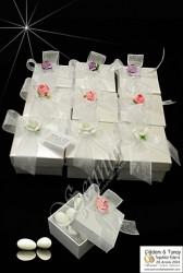 ŞENNUR - Tasarım Kutu Nikah Şekeri 590