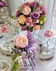 ŞENNUR - Tasarım Nişan Çiçeği, Çİkolatası 2578