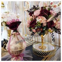 ŞENNUR - Tasarım Nişan Çikolatası ; Çiçeği 2172