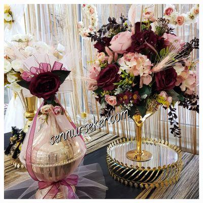 Tasarım Nişan Çikolatası ; Çiçeği 2172