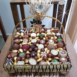 ŞENNUR - Tasarım Söz Nişan Çikolatası 2629