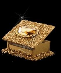 ŞENNUR - Taşlı Kutu Nikah Şekeri 1521