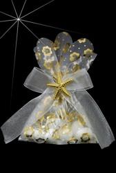 ŞENNUR - Yıldızlı Kese Nikah Şekeri 32593
